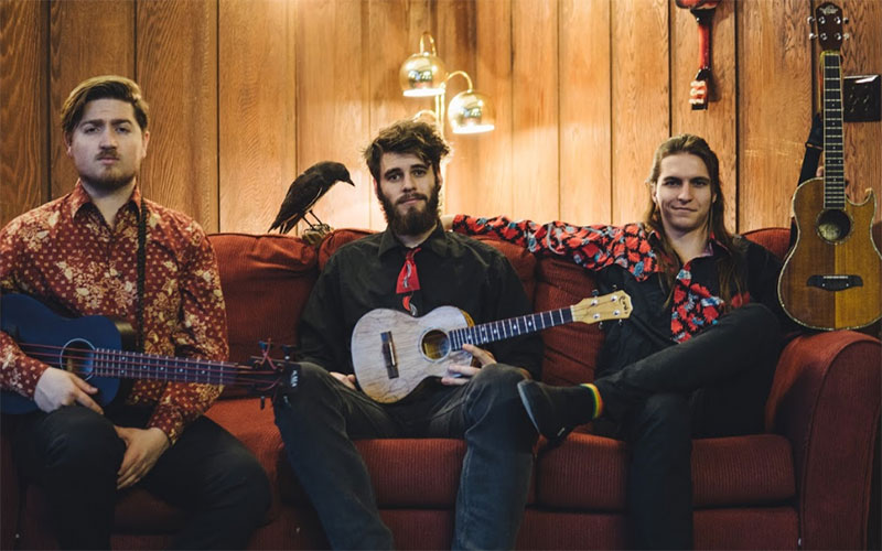 The Naked Waiters - appearing at the Blue Mountains Music Festival of Folk, Roots and Blues, 2018 - in Katoomba!